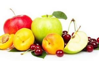 Какие фрукты можно употреблять при гастрите, и лучше в каком виде