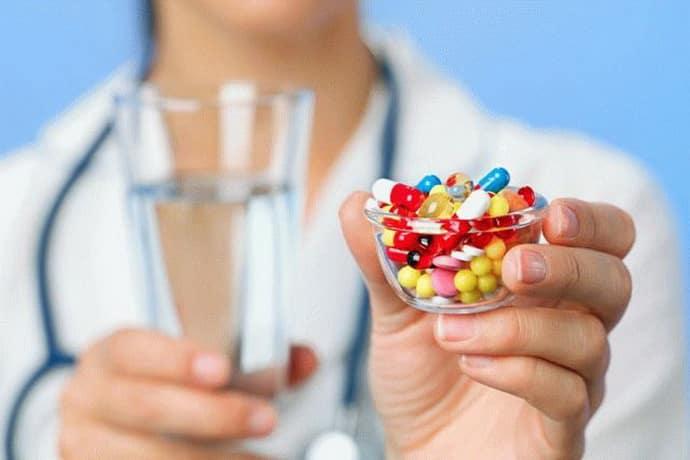 Таблетки при лечении гастрита
