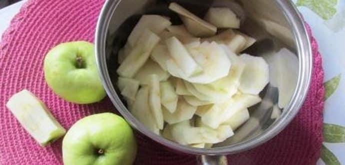 Как приготовить яблочное мороженое