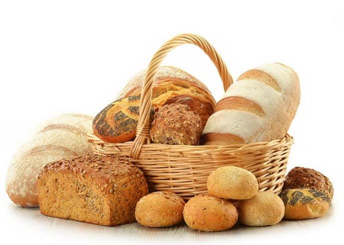 Свежий хлеб при похудении