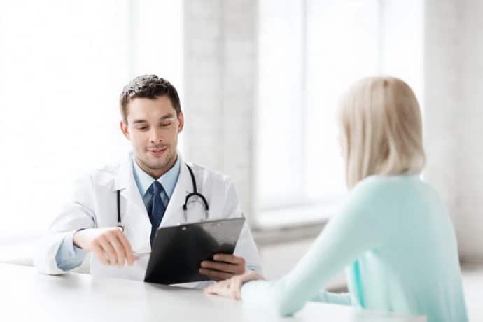 Консультация у врача при гастрите