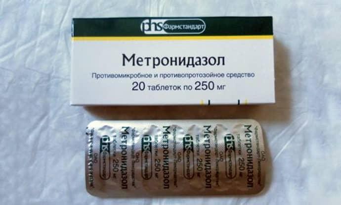 Метронидазол при гастрие