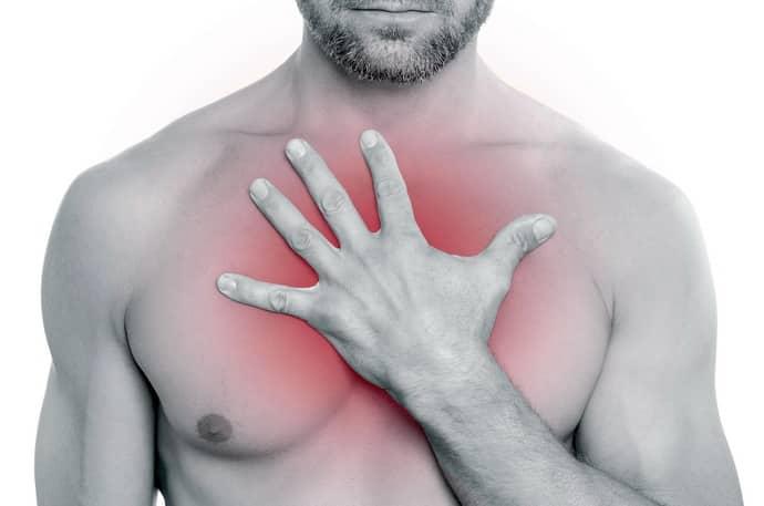 боль в грудной клетке и изжога