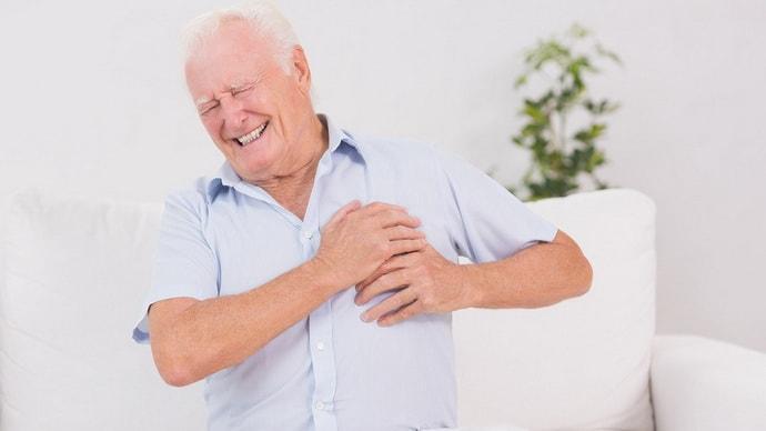 боль в грудной клетке и изжога при инфаркте