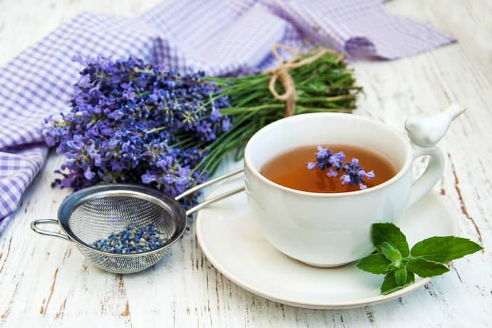 Лавандовый чай при гастрите