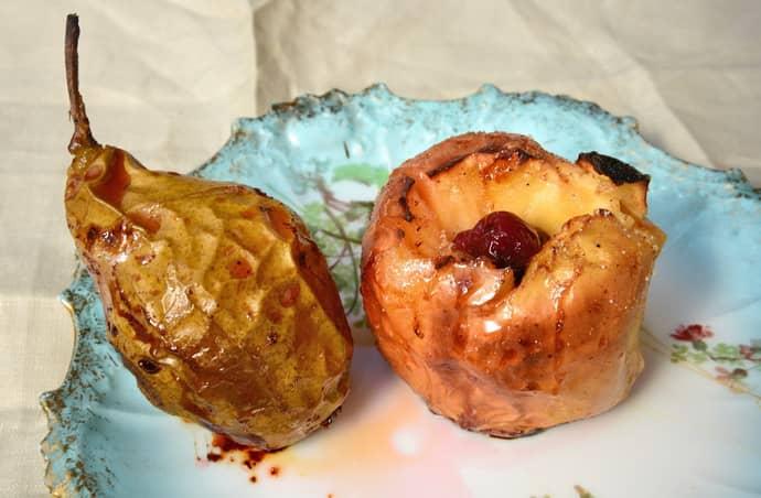 Запеченное яблоко при атрофическом гастрите