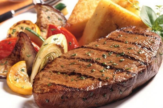 Жаренное мясо при атрофическом гастрите