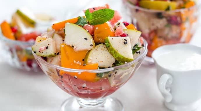 Фруктовый салат при атрофическом гастрите