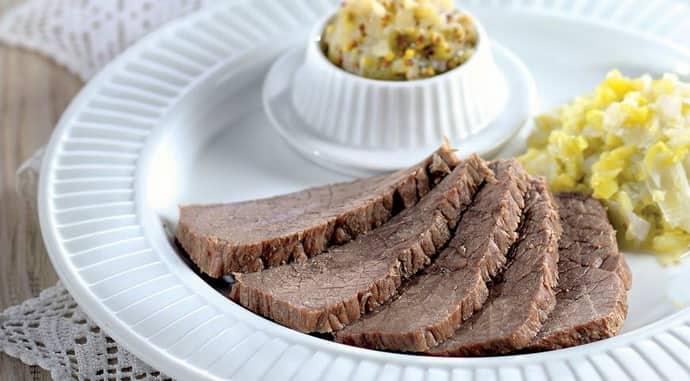 Отварное мясо при гастрите