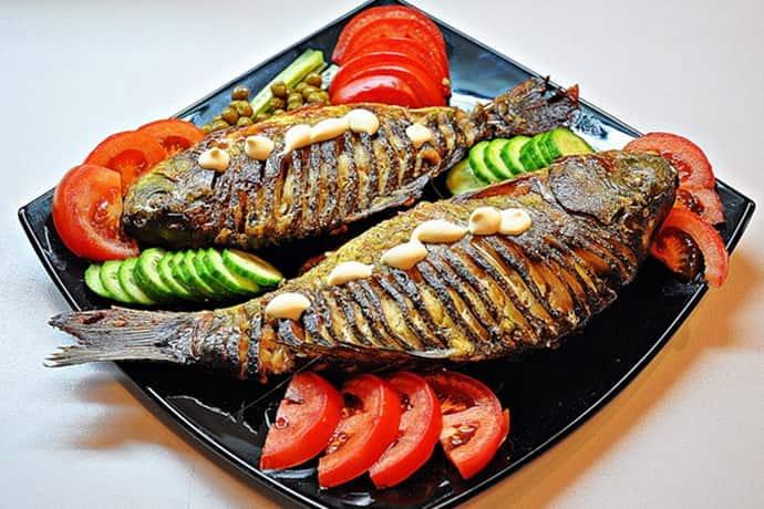 Запеченная рыба при хроническом гастрите