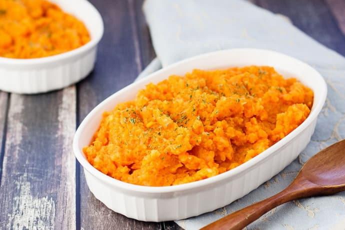 Пюре с морковью при гастрите