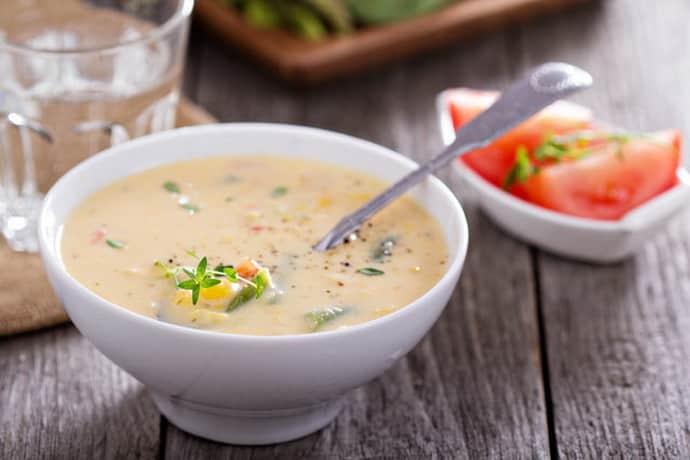суп-пюре при гастрите