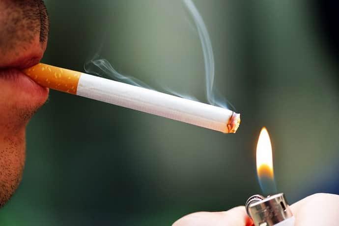 Курение при гастрите