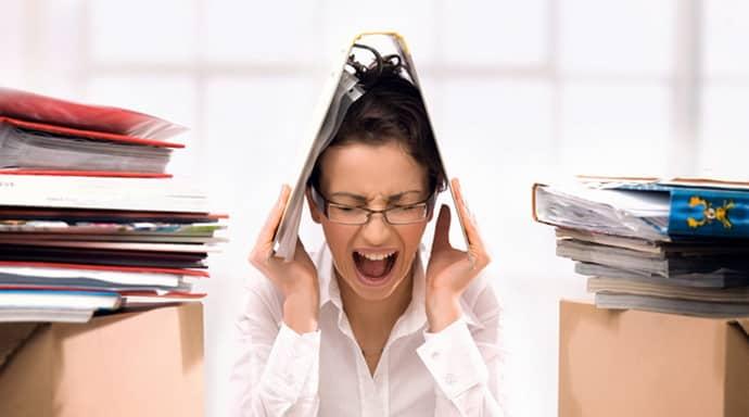 Стресс может вызвать гастрт