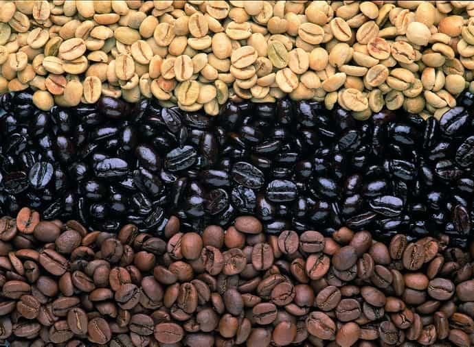 Выбирайте качественные кофейные зерна. чтобы избежать изжоги