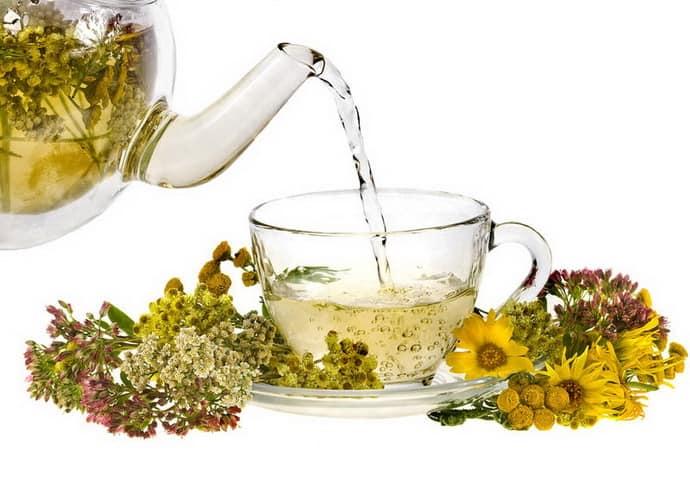 Травяной чай от изжоги после алкоголя