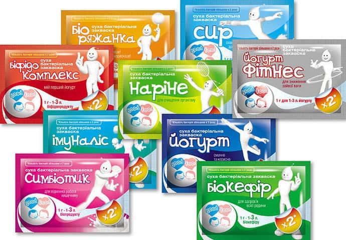 Закваски для йогурта