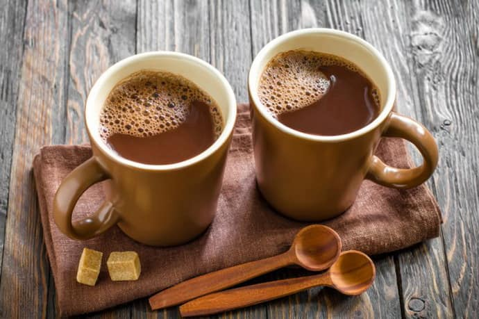 Приготовления какао при гастрите