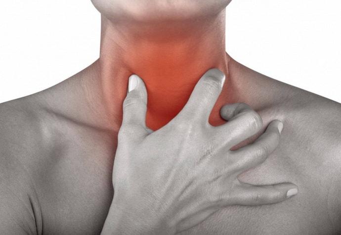 Причины кома в горле при гастрите