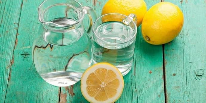Вода с лимоном от изжоги