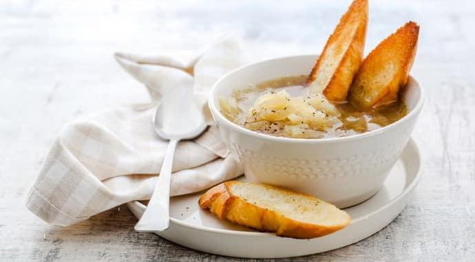 Луковый суп при гастрите