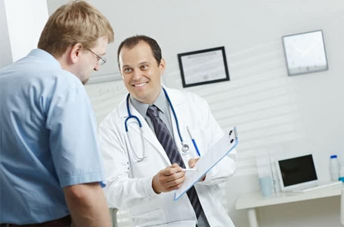 Посещение доктора при гастрите