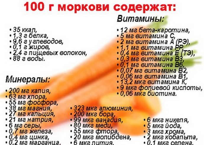 Польза моркови при гастрите