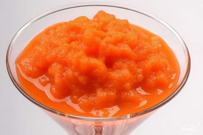 Морковное пюре при гастрите