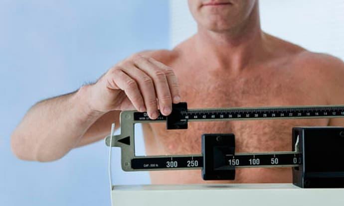 снижение веса при остром гастрите