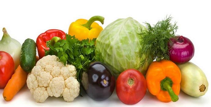 Овощи при гастрите с повышенной кислотностью