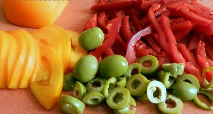 Салат с помидорами при гастрите