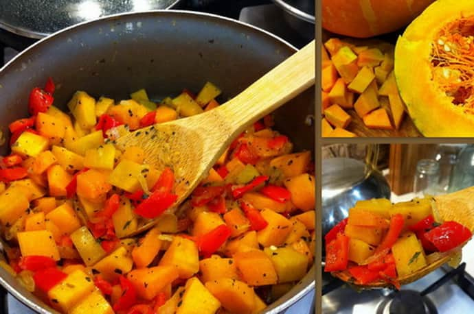 Рагу с помидорами при гастрите