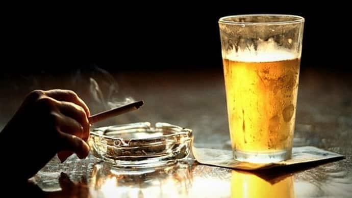 Вредные привычки при изжоге