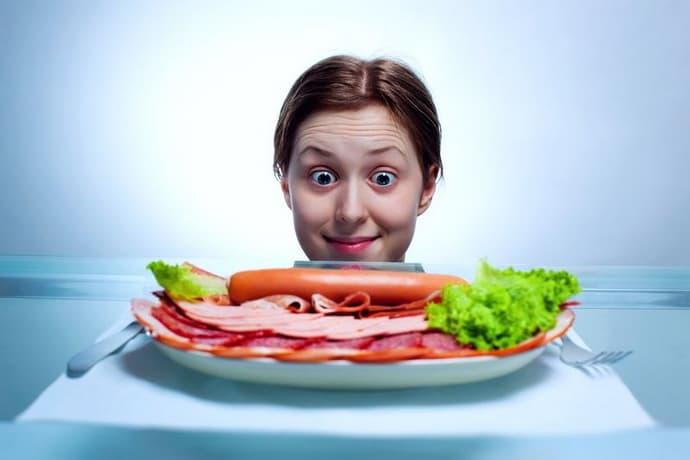 неправильное питание при гастрите