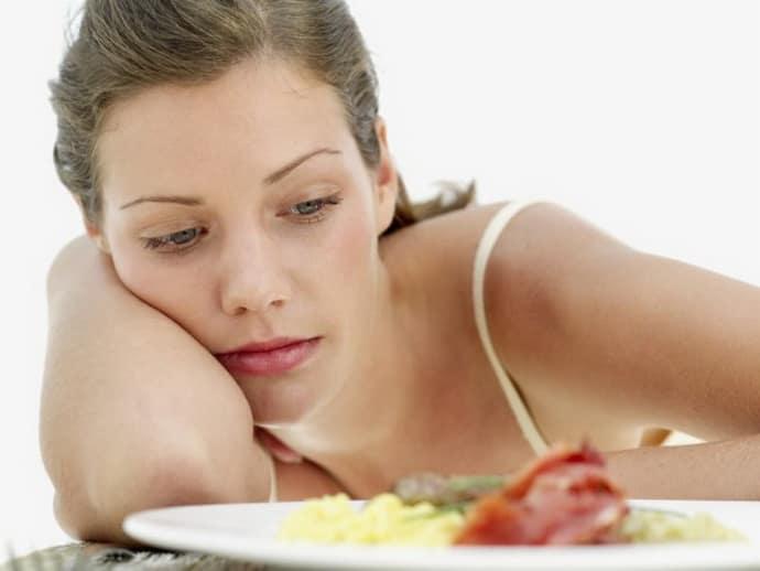 потеря аппетита при гастрите
