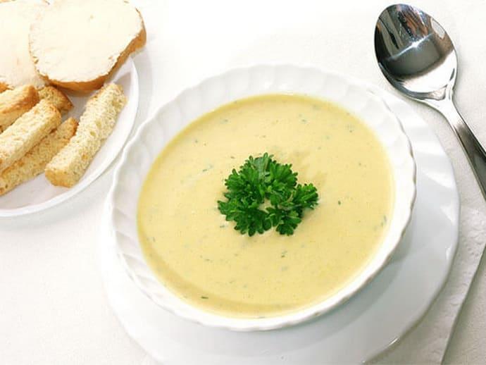 суп-пюре при изжоге