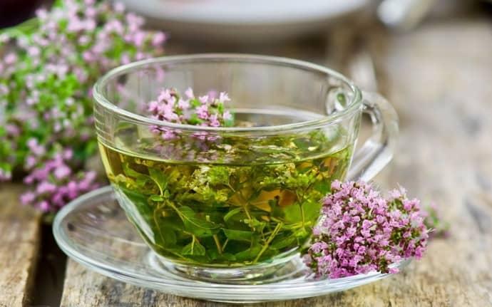 травяной чай при изжоге
