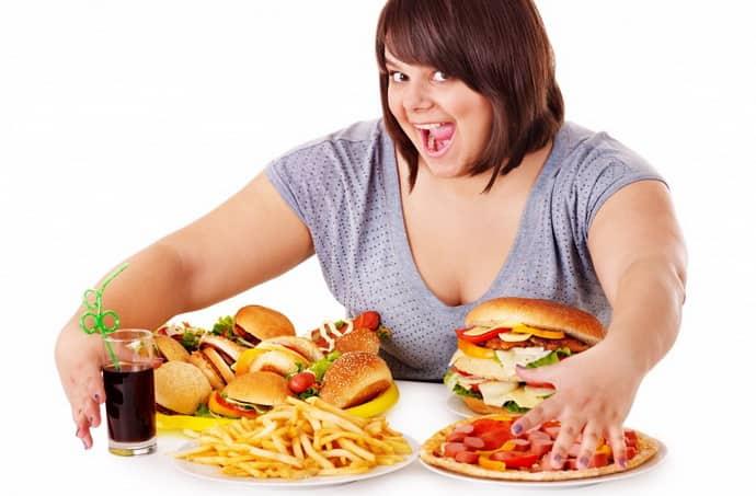 Не правильное питание при изжоге