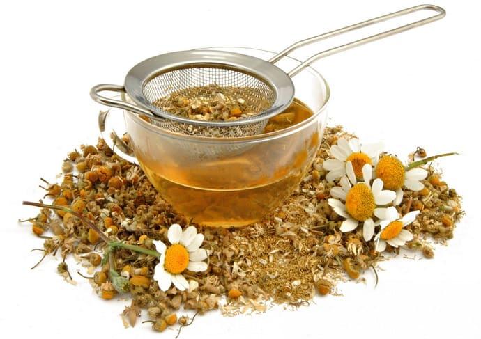 Ромашковый чай при гастрите