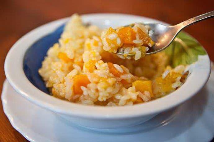 Польза риса с тыквой при гастрите