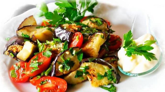 Как приготовить вкусный салат при гастрите.