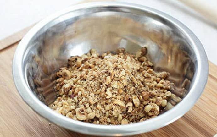Молотые орехи при гастрите
