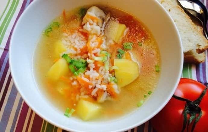 Можно ли рисовый суп при гастрите