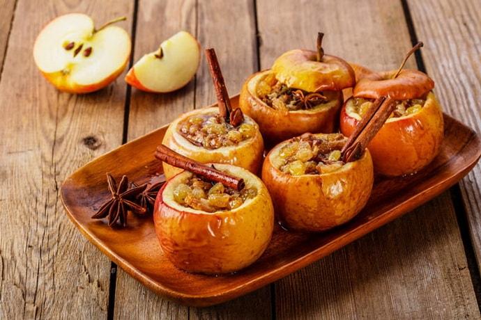 Запеченное яблоко при гастрите
