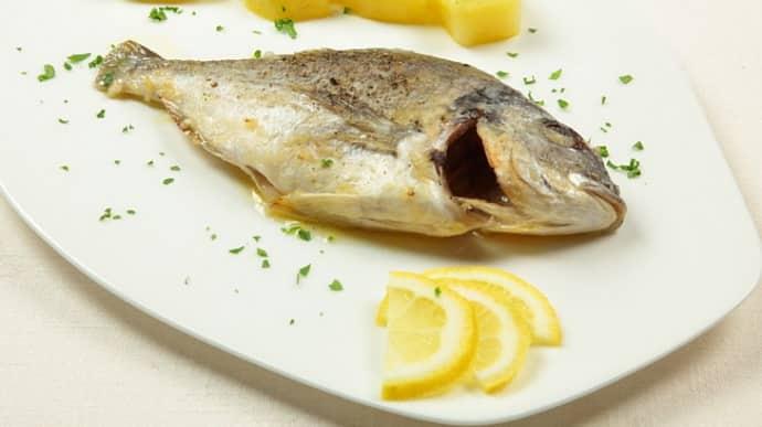 Запеченная рыба при гастрите