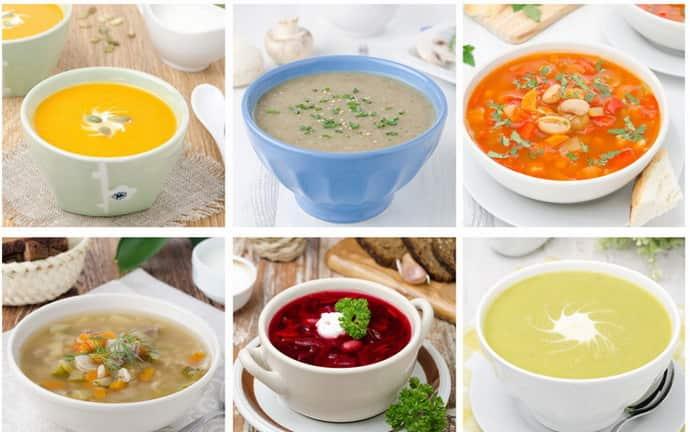 Какие супы приготовить для больного гастритом
