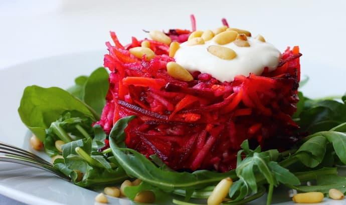 Как приготовить салат при гастрите