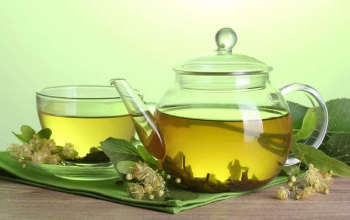 Липовый чай при гастрите от температуры