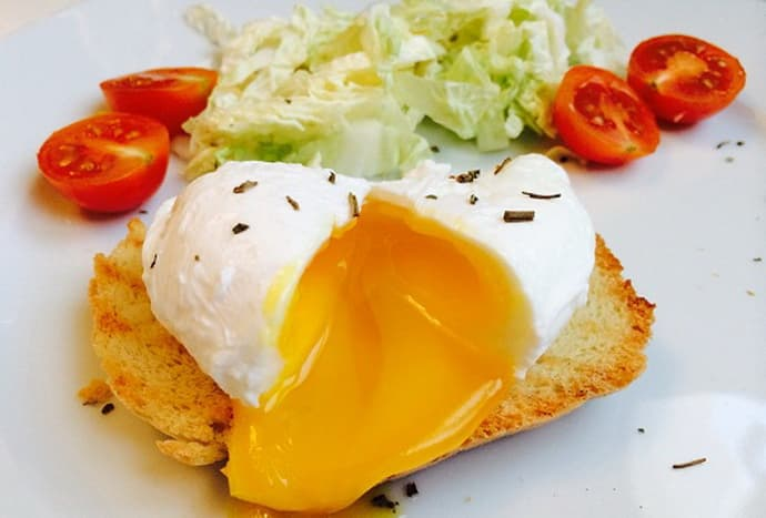 Яйцо пашот при гастрите