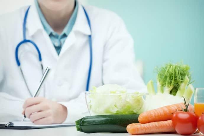 Как составить диету при полипах